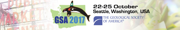 GSA Annual Meeting in Seattle, Washington, USA - 2017