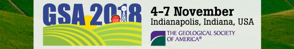 GSA Annual Meeting in Indianapolis, Indiana, USA - 2018